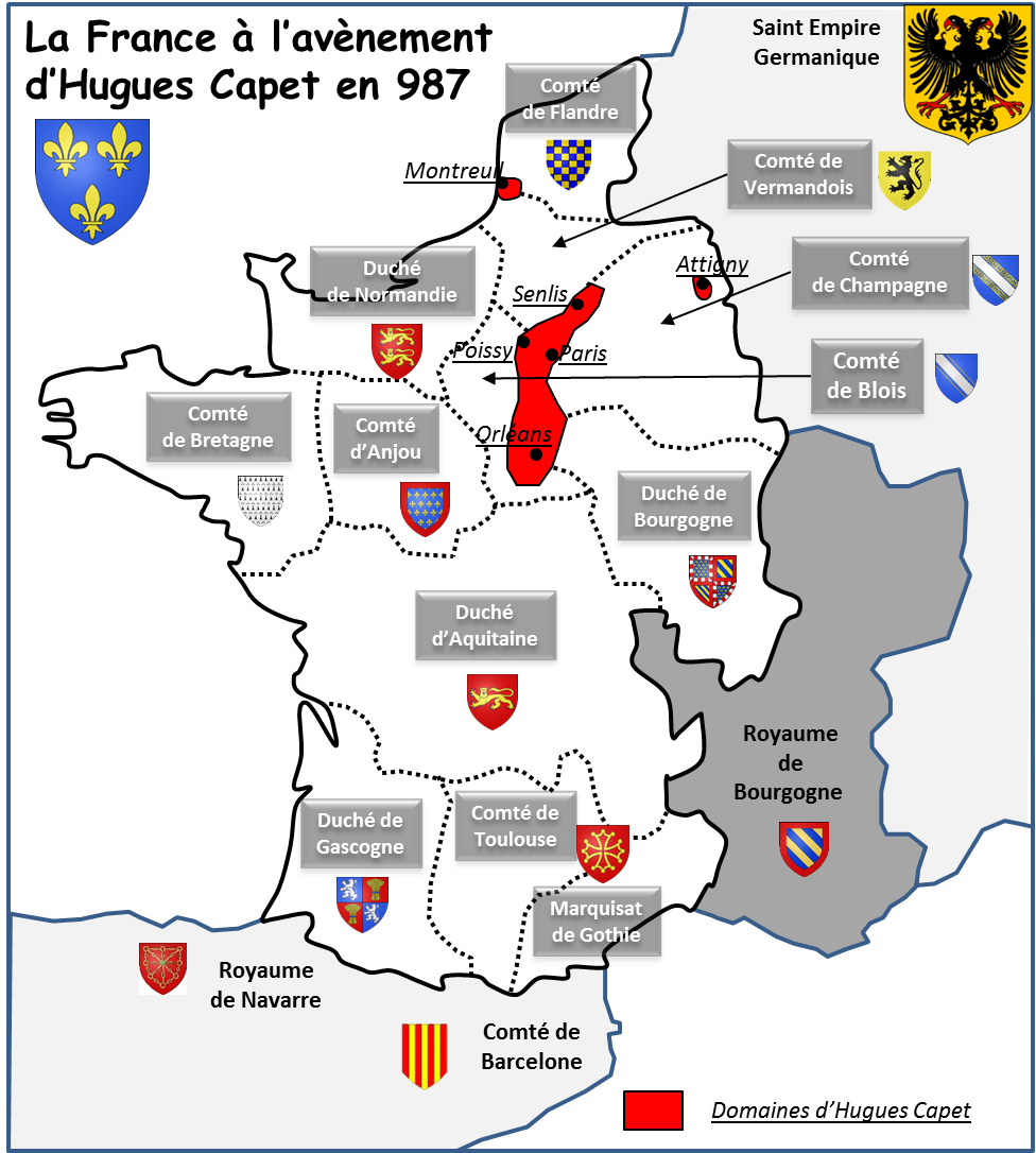 Carte De France En 987   My blog
